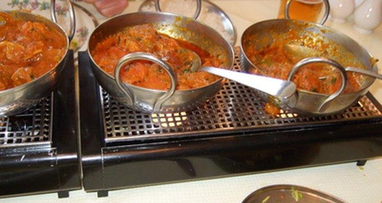 Herramientas de la cocina de la India.