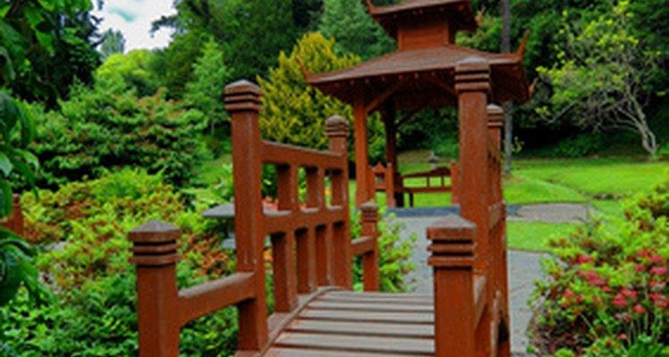 Los japoneses creen que los jardines de flores tienen significados especiales.