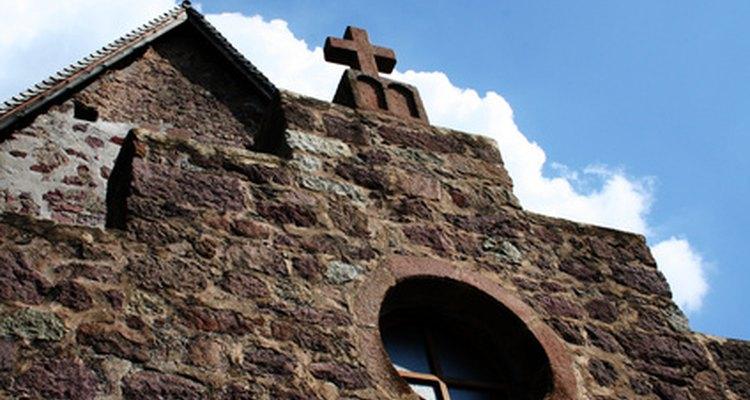 Una capilla cristiana.