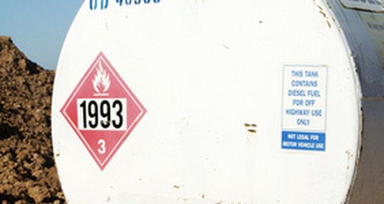 El combustible diesel es peligroso.