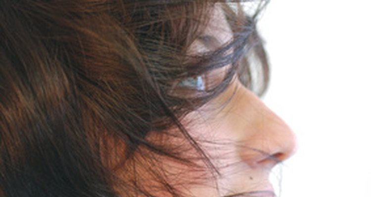 Calcium deposits on your scalp make it difficult to comb your hair.