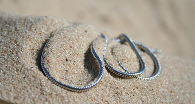 Una cadena de serpiente es un tubo flexible.