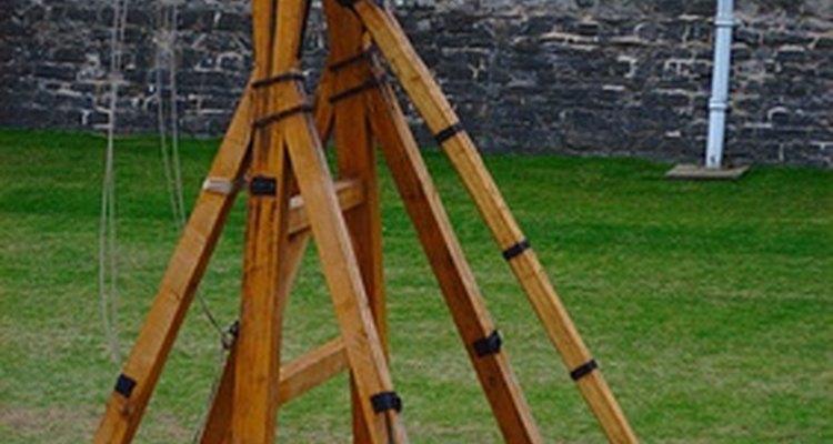 As catapultas são projetos de ciências populares