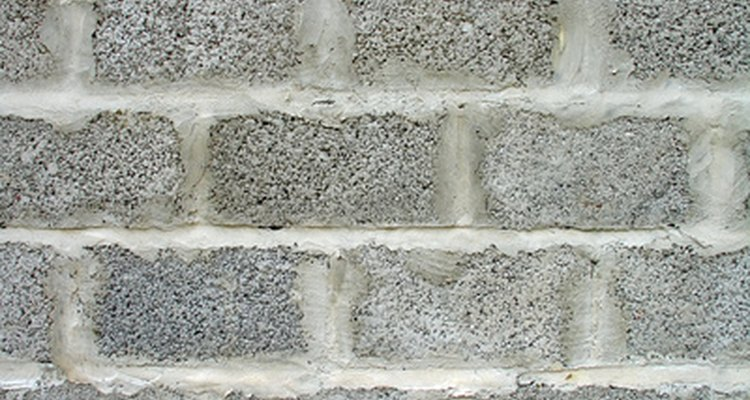 Breeze block walls can develop structural problems over time.