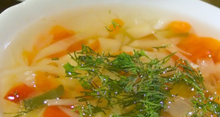 Sopas amargas podem ser resultado de ingredientes ruins ou muito cozimento