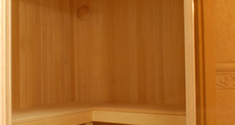 Infrared saunas are small, portable saunas that people can install in their homes.