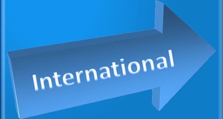 Los números de teléfono internacionales contienen un prefijo internacional, código del país y número telefónico local.