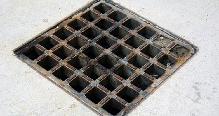Drains that become blocked can get very smelly.