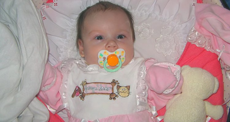 Why have a boring pacifier when you can add a little