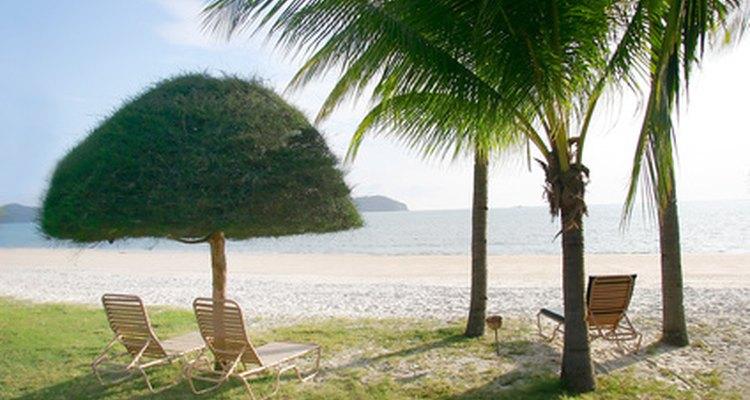 La vestimenta elegante resort caracteriza a hombres y mujeres que están de vacaciones.