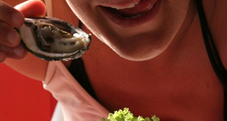 Oysters contain high amounts of zinc, which stimulates white blood cell production.