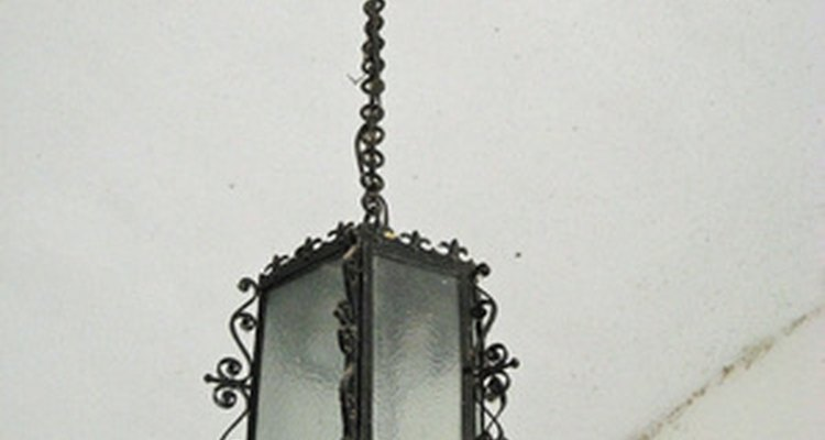 A decorative pendant light can help change a room's look.