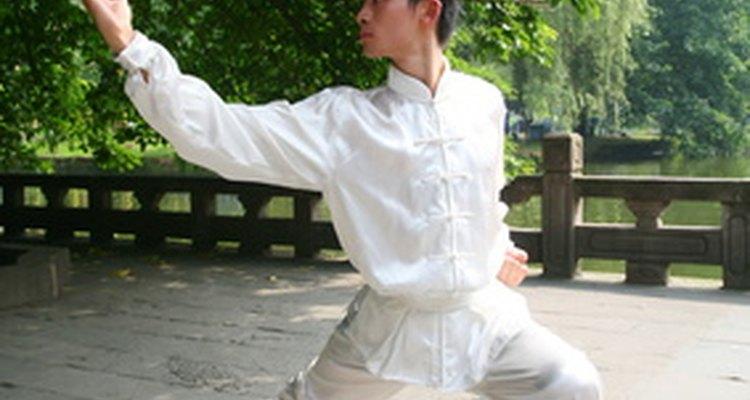 O kung fu é uma antiga arte de defesa pessoal