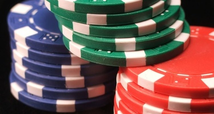 Creating personalised and customised poker chip stickers can be done locally or using online printing websites.