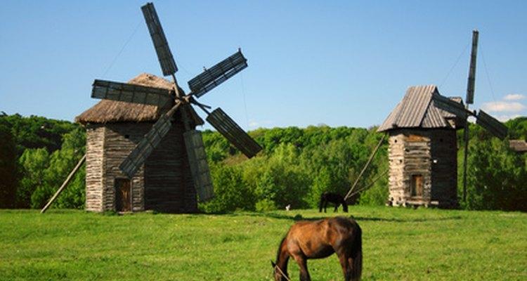 Los molinos de rodillos pueden procesar mucho más que los molinos de viento tradicionales.