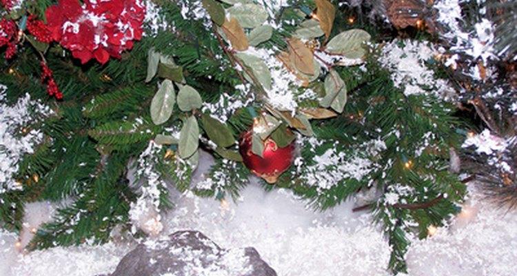 Dê um toque de inverno na decoração de Natal