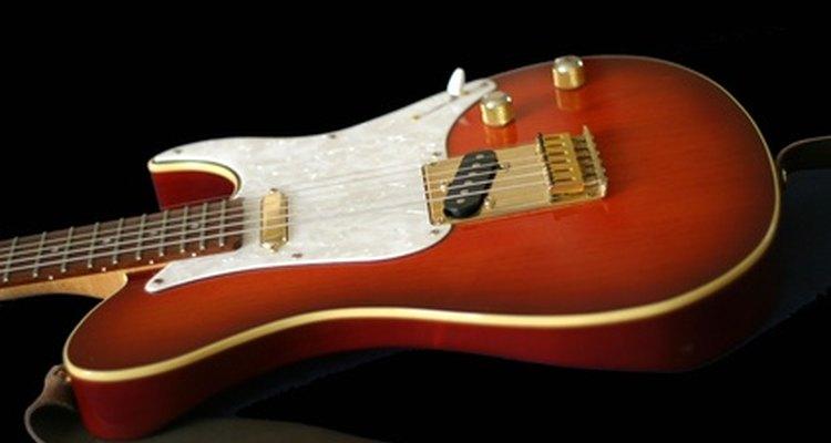 Tente dar à sua guitarra um aspecto envelhecido
