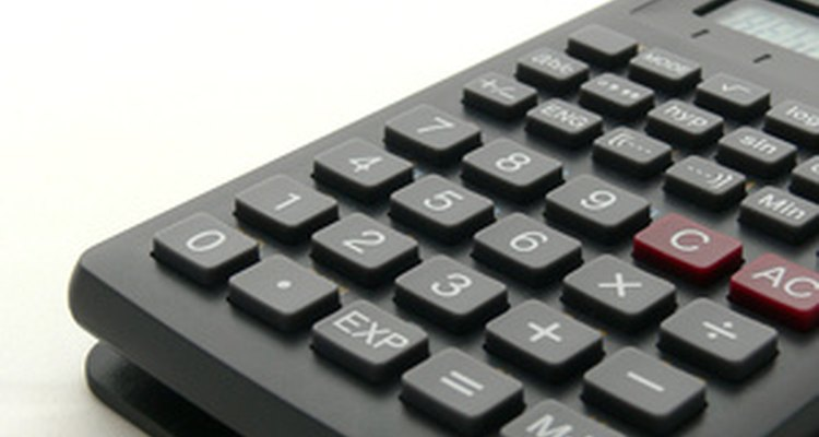 Una calculadora.