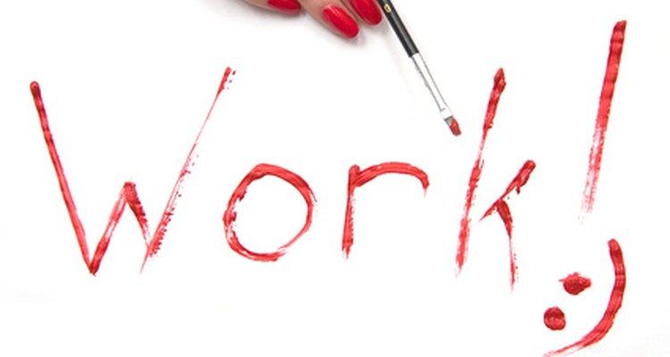 Trabajo: A nadie le gusta, pero todos tienen que hacerlo.