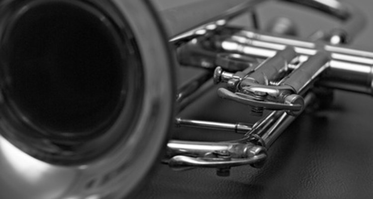 Specialised tools allow you to remove dents in trumpets.