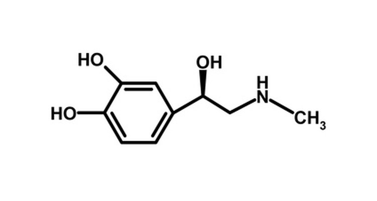 The chemical structure of adrenalin is similar to that of salbutamol except it lacks the