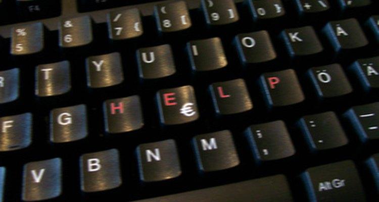 Errar uma tecla durante a digitação, muitas vezes, leva a erros de ortografia
