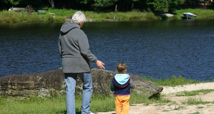 Grandparents are an important part of family life.