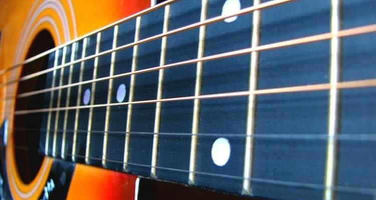 Most differences between the 38-inch and 41-inch acoustic guitars are in the instruments' neck.