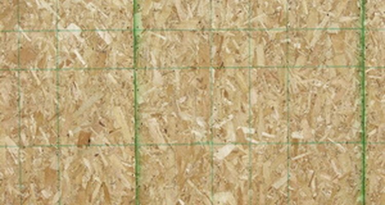 Untreated OSB panels can be stained and sealed.