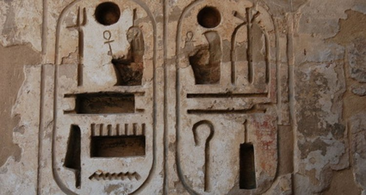 Scribes recorded important events for the ancient Egyptians.