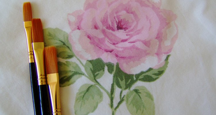 Flower Painting for a Decoration