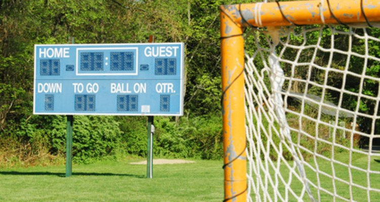 Small businesses support local sports teams and charity events.