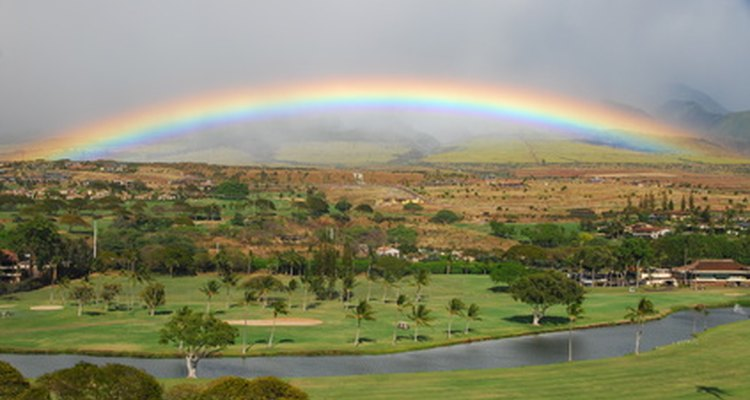 A rainbow is a naturally occurring example of light refraction.