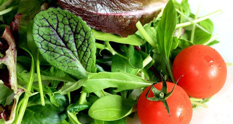 Se você é alérgico, verifique cuidadosamente a presença de rúcula em saladas, um vegetal folhoso verde, longo e fino
