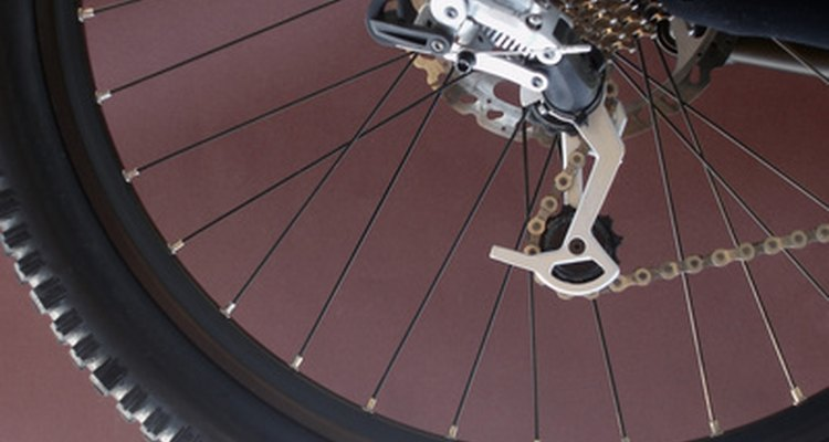 A rear derailleur moves your chain over your back gears.