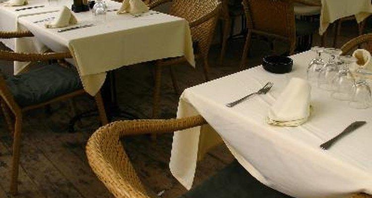 Saiba como calcular o espaço para os assentos de seu restaurante.
