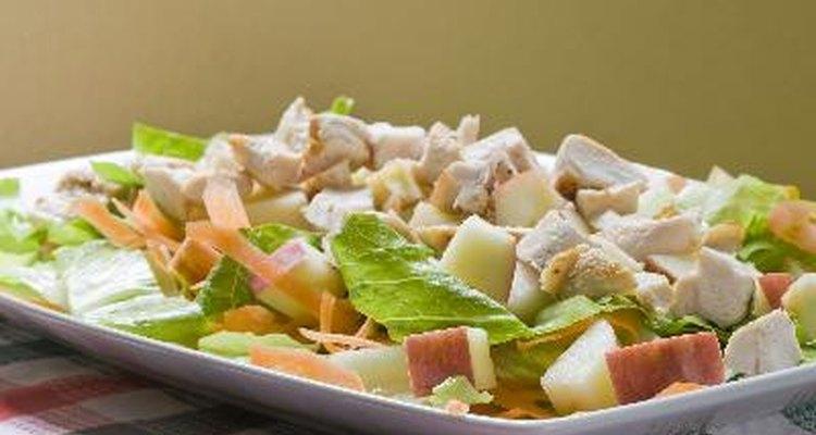 Prepara la ensalada un día antes.