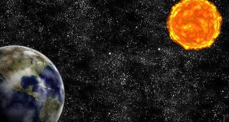 A terra está situada a uma distância que permite a existência de vida