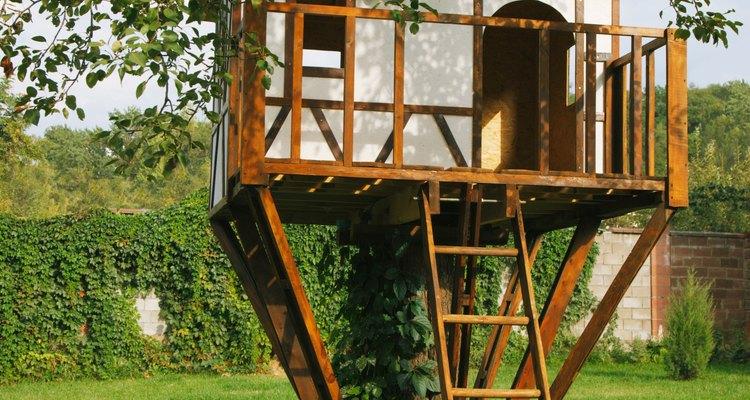 Las casitas del árbol pueden considerarse un rito de iniciación para muchos niños y sus padres.
