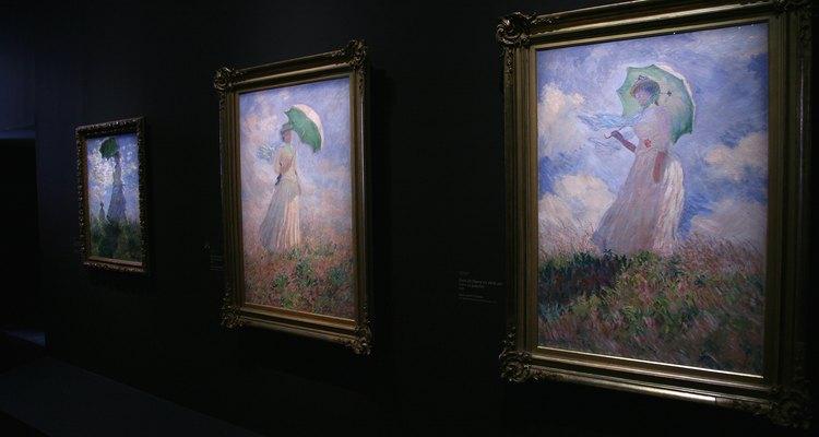 Claude Monet é um impressionista bem conhecido