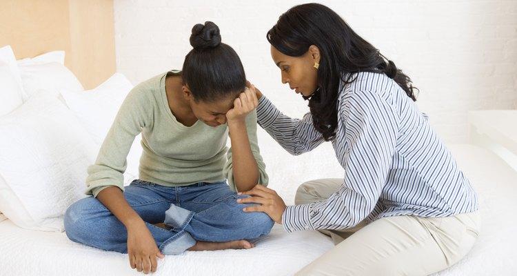 El llanto es normal, pero la depresión combinada con la actividad maníaca puede indicar un problema bipolar.