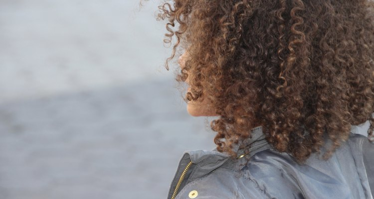 Curly Haired Child back of head