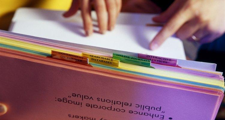 Un buen sistema de control de documentos es importante en toda organización.