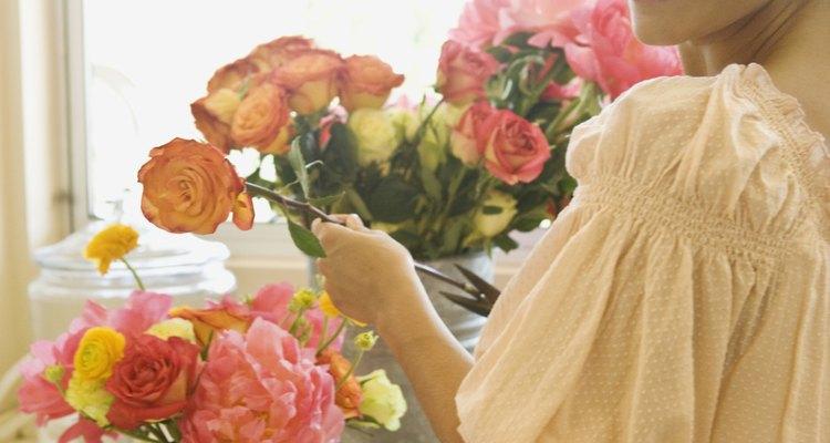 Un buen arreglo floral te hará quedar bien.