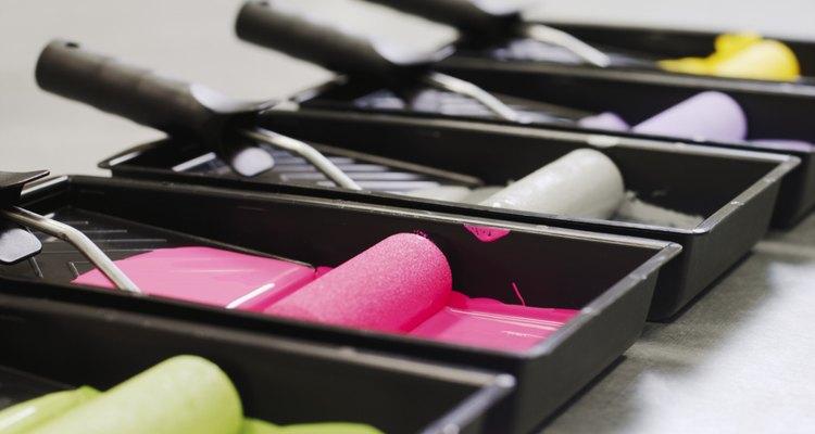 Las bombillas fluorescentes compactas no suelen distorsionar los colores de pintura.