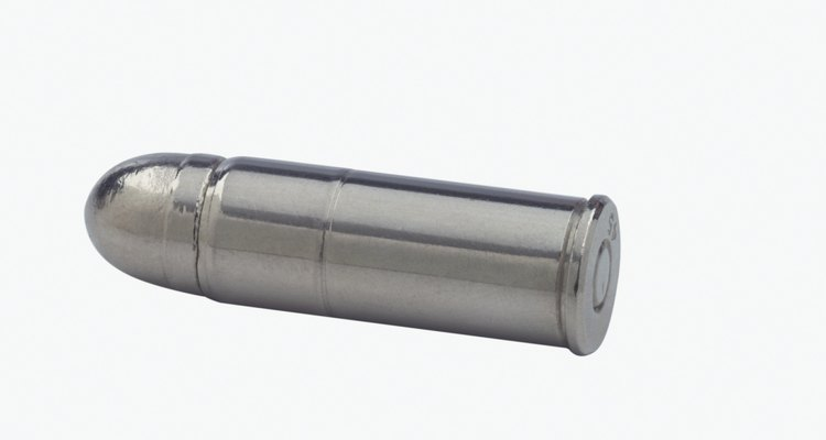 Os metais existentes nas balas podem ser diferentes dependendo do tipo de munição