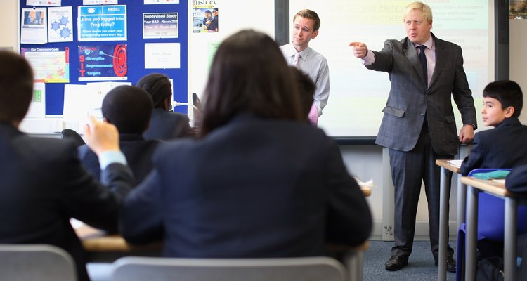 Hiring a teacher based on who he is related to could be seen as nepotism.