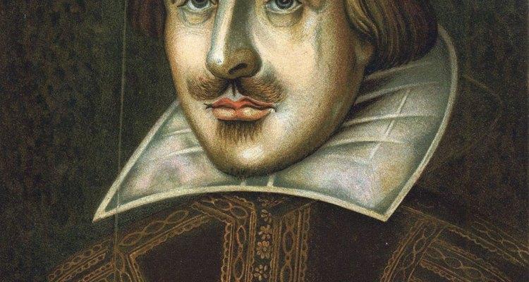 O pentâmetro iâmbico, um dos favoritos de Shakespeare, contém dez sílabas e cinco iambos