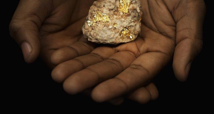 Una pepita de oro.