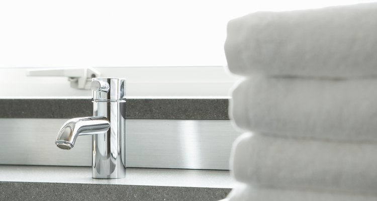 Bathroom sinks and countertops come in many sizes and shapes.